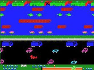 Juego online Frog (MSX)