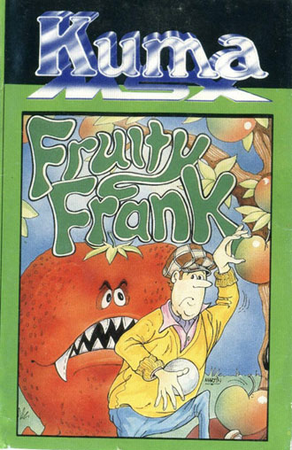 Juego online Fruity Frank (MSX)