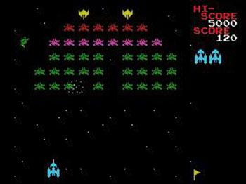 Imagen de la descarga de Galaxian