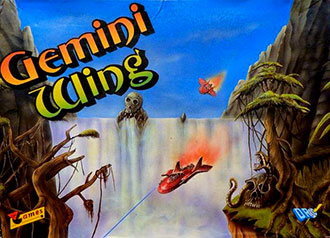 Juego online Gemini Wing (MSX)