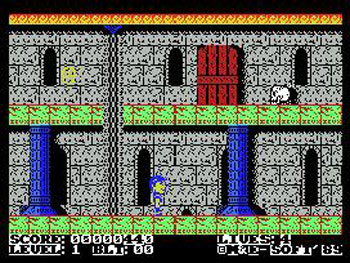 Juego online Ghost Time (MSX)