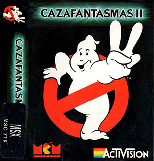 Juego online Ghostbusters 2 (MSX)