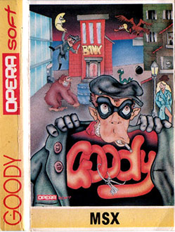 Juego online Goody (MSX)