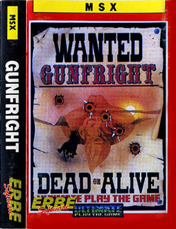 Portada de la descarga de Gunfright