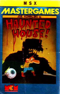 Juego online Haunted House (MSX)