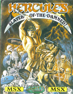 Juego online Hercules: Slayer Of The Damned (MSX)