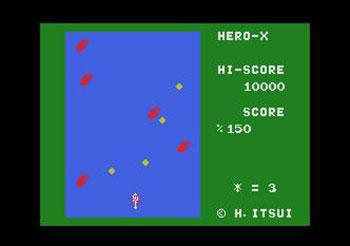 Pantallazo del juego online Hero X (MSX)