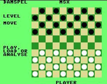 Juego online Het Damspel (MSX)