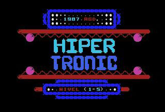 Juego online Hiper Tronic (MSX)