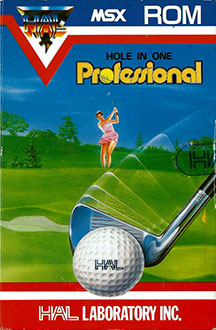 Juego online Hole In One Professional (MSX)