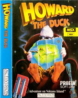 Portada de la descarga de Howard the Duck
