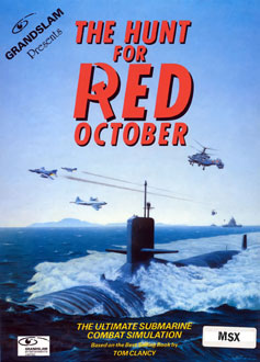 Juego online The Hunt for Red October (MSX)