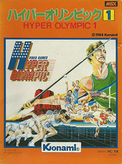 Juego online Hyper Olympic 1 (MSX)