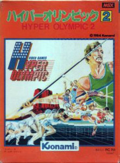 Juego online Hyper Olympic 2 (MSX)