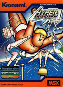 Juego online Hyper Sports 1 (MSX)