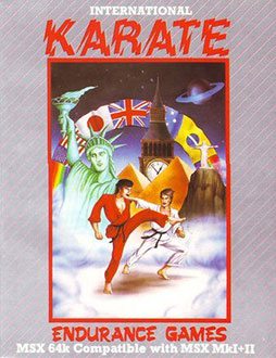 Juego online International Karate (MSX)