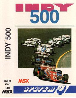 Juego online Indy 500 (MSX)