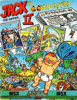 Juego online Jack the Nipper II: In Coconut Capers (MSX)