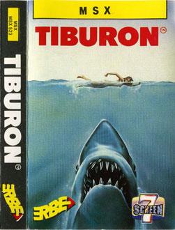 Juego online Jaws (Tiburon) (MSX)