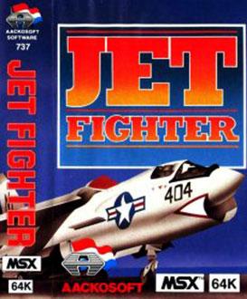 Juego online Jet Fighter (MSX)