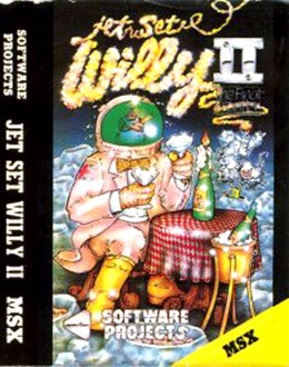 Juego online Jet Set Willy 2 (MSX)