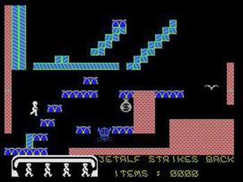 Juego online Jetalf Strikes Back (MSX)