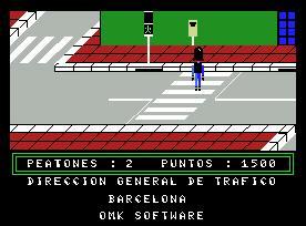 Juego online Juega... pero Seguro (MSX)