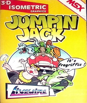 Juego online Jumping Jack (MSX)