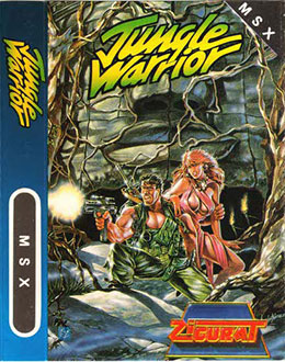 Juego online Jungle Warrior (MSX)