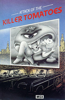 Juego online Attack of the Killer Tomatoes (MSX)