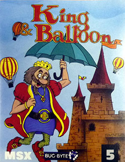 Juego online King and Balloon (MSX)