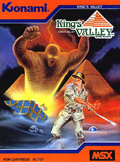 Juego online King's Valley (MSX)