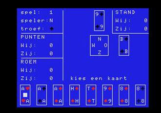 Juego online Klaverjassen (MSX)