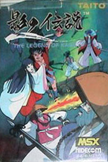 Juego online The Legend of Kage (MSX)