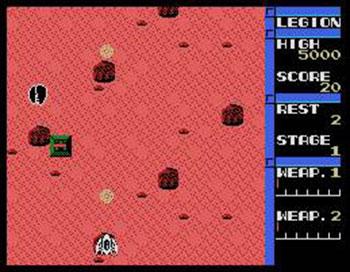 Juego online Legion (MSX)