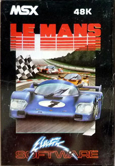 Juego online Le Mans (MSX)