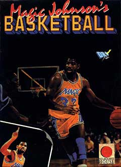 Portada de la descarga de Magic Johnson's Basketball