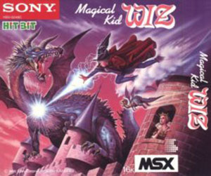 Juego online Magical Kid Wiz (MSX)