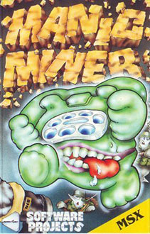 Juego online Manic Miner (MSX)