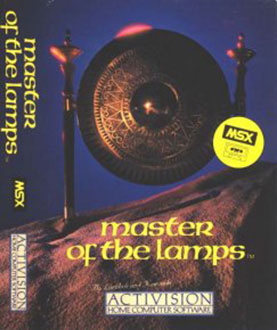 Juego online Master of the Lamps (MSX)