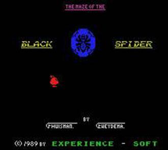 Portada de la descarga de Maze of the Black Spider