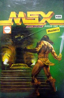 Juego online Maziacs (MSX)