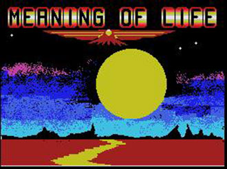 Juego online The Meaning of Life (MSX)