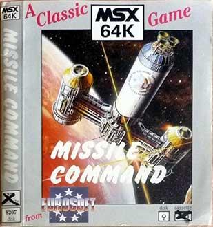 Portada de la descarga de Missile Command