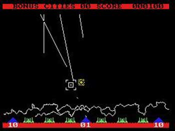 Imagen de la descarga de Missile Command