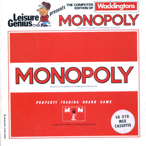 Juego online Monopoly (MSX)