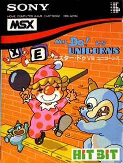 Juego online Mr. Do vs. Unicorns (MSX)