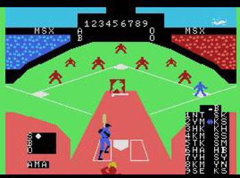 Imagen de la descarga de MSX Baseball