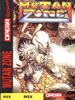 Carátula del juego Mutan Zone (MSX)