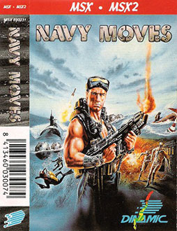 Juego online Navy Moves (MSX)